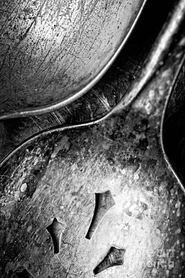 Photograph - Antique Silverware by Edward Fielding