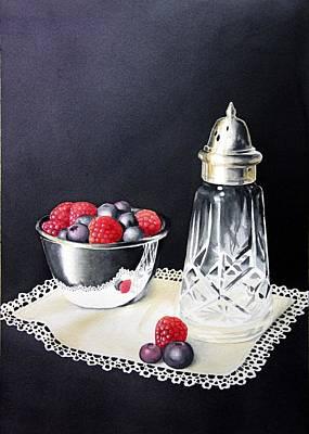 Brenda Brown Art Painting - Antique Sugar Shaker by Brenda Brown