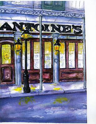 Painting - Antoine's  by Catherine Wilson
