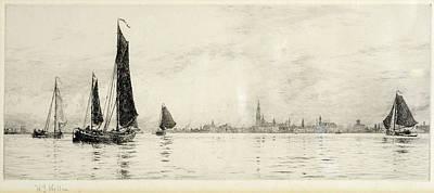 Antwerp Print by William Lionel