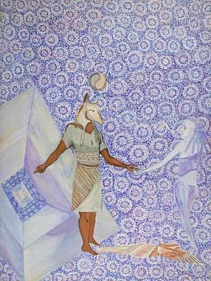 Inner Light Painting - Anubis by Sonya Ki Tomlinson