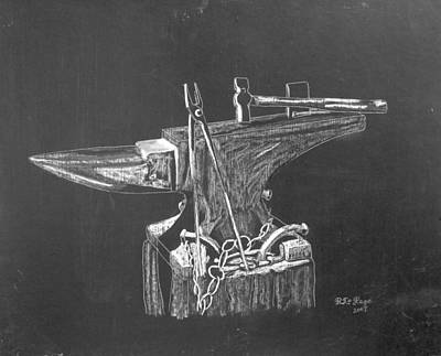 Anvil Print by Richard Le Page
