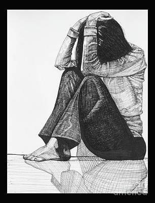 Anxiety Original by Jessica Browne-White