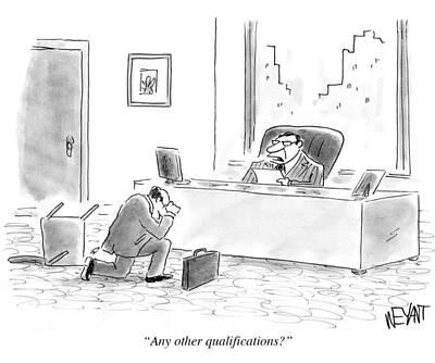 Tebow Photograph - Any Other Qualifications? by Christopher Weyant