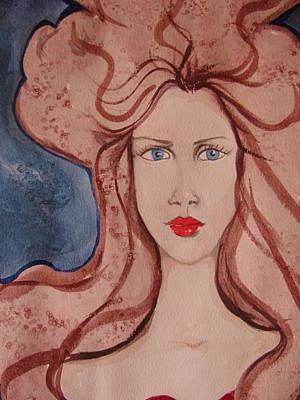 Aphrodite Print by Lindie Racz