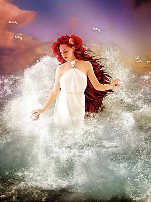 Goddess Mythology Digital Art - Aphrodite by Mary Hood