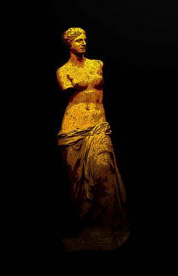 Aphrodite Of Milos Print by Laura Greco