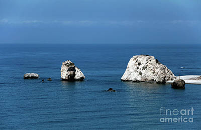 Greek School Of Art Photograph - Aphrodite's Rocks by John Rizzuto