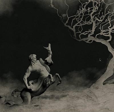 Centaur Digital Art - Aphros And The Sea Serpent by Susan Maxwell Schmidt
