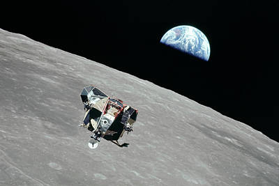 Space Exploration Photograph - Apollo 11 by Peter Chilelli