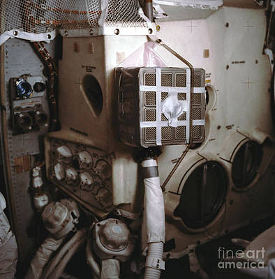 Apollo 13s Mailbox Print by Nasa