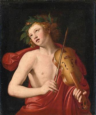 Sassoferrato Painting - Apollo by Sassoferrato