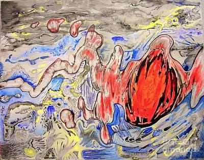 Apoplexy Original by Andrew Cravello