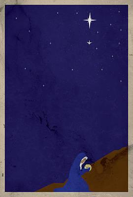 Apostles' Creed 2 - Incarnation Print by Jason Custer