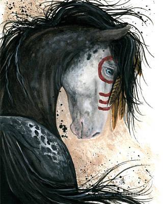 Appalossa Horse Print by AmyLyn Bihrle