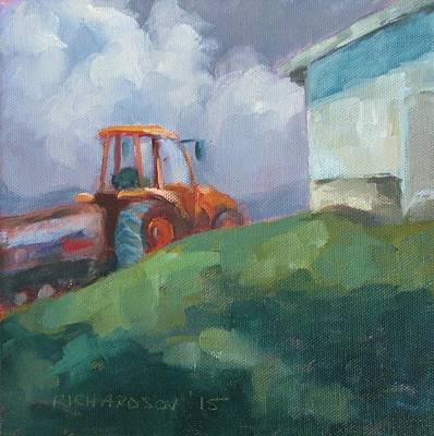 Apple Barn Original by Susan Richardson