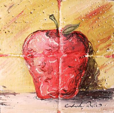 Painting - Apple by Joseph Palotas