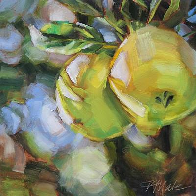 Fruit Tree Art Painting - Apple Tree by Tracy Male