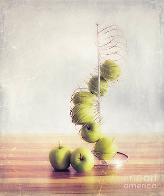 Apples 3 Print by SK Pfphotography