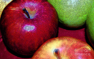 Apples By Jammer And Jrr Print by First Star Art