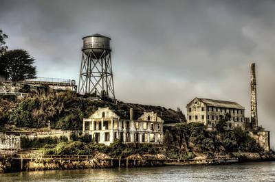 Alcatraz Photograph - Approaching Alcatraz Island #2 by Jennifer Rondinelli Reilly