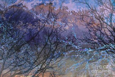 Thunder Painting - Spring Rain by Ursula Freer