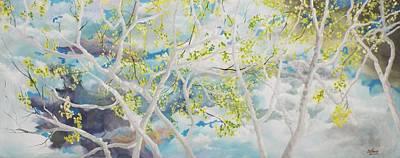April Showers Original by Michael Dillon