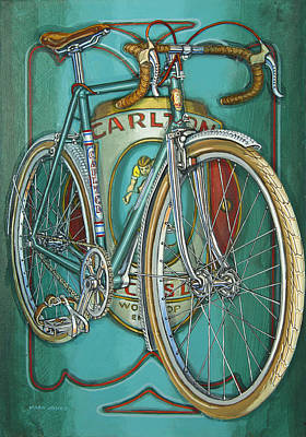 Painting - Aqua Carlton Fixed by Mark Howard Jones