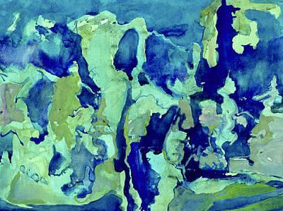 Aqua Night Original by Michal Rezanka