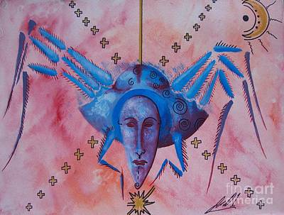 Olivia Painting - Arachne by Olivia Candille