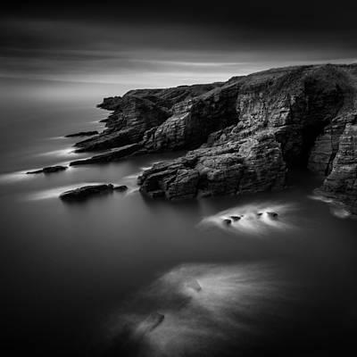 Arbroath Cliffs Print by Dave Bowman