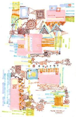 Arcane Mechanics Original by Regina Valluzzi