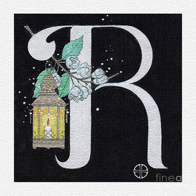 Archangel R Print by Art By LaRoque