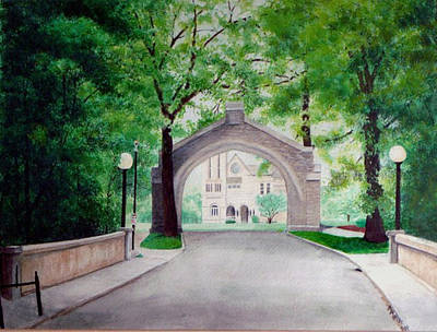 Arches Of Shadduck St Mary Print by Marcus Moller