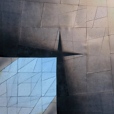 Architectural Abstract Photograph - Architectural Reflections 4619a by Carol Leigh