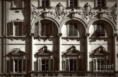Architecture Of Lucca Print by Prints of Italy