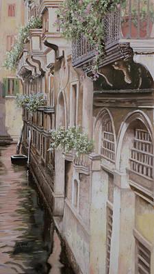 Painting - architetture di  Venezia by Guido Borelli