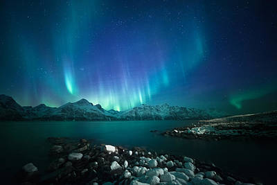 Aurora Photograph - Arctic Blessings by Tor-Ivar Naess