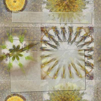 Arcuately Fancy Flower  Id 16164-225333-02131 Print by S Lurk