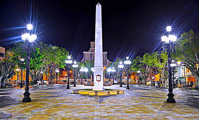 Puerto Rico Photograph - Arecibo Plaza by Dado Molina