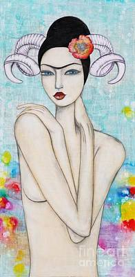 Painting - Aries by Natalie Briney