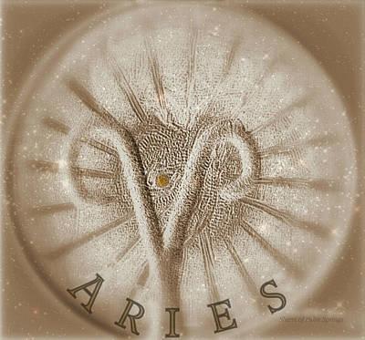 Universe Digital Art - Aries by Sherri  Of Palm Springs