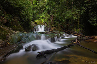 Arimas Photograph - Aripo Waterfall by Marcus Gonzales