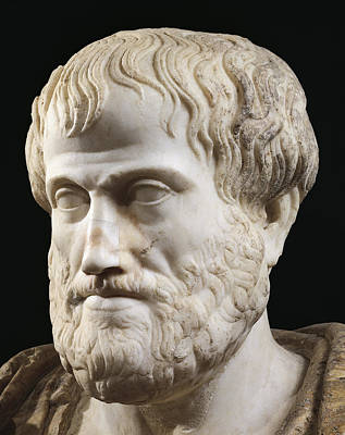 Ancient Greece Sculpture - Aristotle by Lysippus