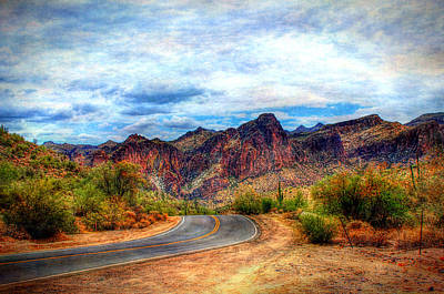 Digital Art - Arizona Highway by Dan Stone