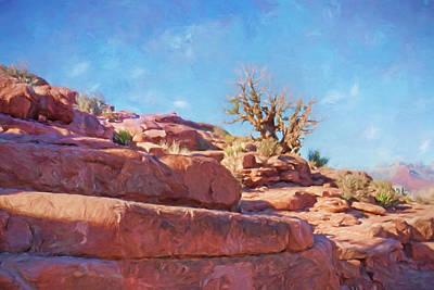 Arizona Landscape Print by Impressionist Art