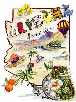 Grand Memories Painting - Arizona Memories by Marilyn Smith