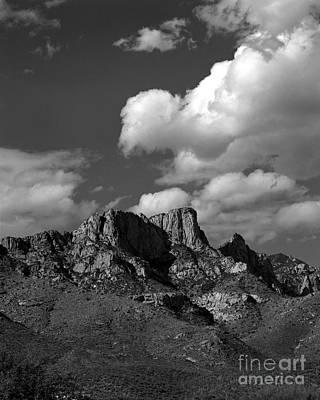 Arizona Mountains And Saguaro Cactus Original by Arni Katz