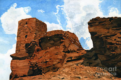 Arizona Ruin Original by James Stanley