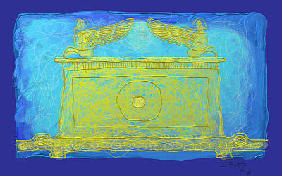 Ark Of The Covenant Print by Ian Roz